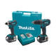 Factory Reconditioned Makita LXT211-R LXT 18V Cordless Lithium-Ion 1/2 in. Hammer Drill and Impact Driver Combo Kit