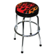 ATD 81056 Shop Stool with Flame Design