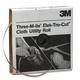 3M 5010 Cloth Utility Roll 1 in. x 50 yd. 80J