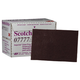 3M 7777 Scotch-Brite Imperial Paint Prep Scuff Pad Maroon 9 in. x 6 in. (20-Pack)