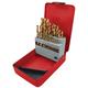 ATD 9231 31-Piece Popular Size Titanium Coated Premium Drill Bit Set
