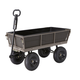 Gorilla Carts GORMP-14 1,200 lb. Capacity Steel Multi-Use Dump Cart