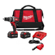Milwaukee 2602-22DC M18 18V Cordless Lithium-Ion Hammer Drill with AC/DC Charger