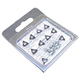 AMMCO 691410 Negative Rake Brake Lathe Bits (10-Pack)