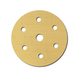 3M 1075 6 in. P320A Hookit Gold Disc D/F (100-Pack)