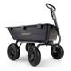Gorilla Carts GOR6PS 1,200 lb. Capacity Poly Garden Dump Cart