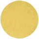 3M 1208 6 in. Stikit Gold P220 Grade Sanding Discs (75-Pack)