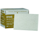 3M 7445 Scotch-Brite Light Cleansing Pad White 6 in. x 9 in. (20-Pack)