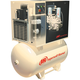 Ingersoll Rand UP65TAS-125I 5 HP 230/3 125 PSI 120 Gallon Rotary Screw Air Compressor Total Air System