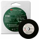 3M 1991 Green Corps Reinforced Weld Grinding Wheel 3 in. x 3/16 in. x 3/8 in. (5-Pack)