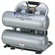 California Air Tools CAT-4610S 1 HP 4.6 Gallon Ultra Quiet Steel Twin Tank Air Compressor
