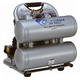 California Air Tools CAT-4620AC 2 HP 4 Gallon Ultra Quiet Aluminum Twin Tank Air Compressor