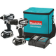 Makita LCT200W 18V Cordless Lithium-Ion 1/2 in. Drill Driver & 1/4 in. Impact Driver Combo Kit