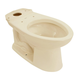 TOTO C744E-03 Drake Elongated Floor Mount Toilet Bowl (Bone)