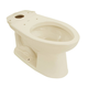 TOTO C744E-12 Drake Elongated Floor Mount Toilet Bowl (Sedona Beige)