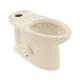 TOTO C744EL-12 Drake Elongated Floor Mount Toilet Bowl (Sedona Beige)