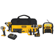 Factory Reconditioned Dewalt DCK598L2R 20V MAX Cordless Lithium-Ion 5-Tool Combo Kit