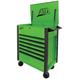ATD 70400 7-Drawer Flip-Top Tool Cart Green