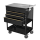 ATD 7046 Professional 4-Drawer Service Cart Black