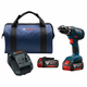 Bosch DDS181A-01 Compact Tough 18V 4.0 Ah Cordless Lithium-Ion 1/2 in. Drill Driver Kit