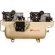 Ingersoll Rand 22545E10-V2 10 HP 230/3/60 2-Stage Duplex Cast Iron Compressor