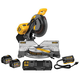 Dewalt DHS716AT2 120V MAX FlexVolt Cordless Lithium-Ion 12 in. Fixed Compound Miter Saw Kit with Batteries and Adapter