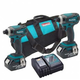 Makita LXT253 18V LXT Cordless Lithium-Ion 2-Piece 1/4 in. Impact Driver Combo Kit