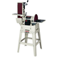 JET 708599K 6 in. x 48 in. Belt / 12 in. Disc Combination Sander with Open Stand