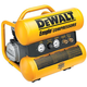 Factory Reconditioned Dewalt D55152R 1.1 HP 4 Gallon Oil-Lube Hand Carry Air Compressor with Control Panel