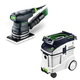 Festool P48567863 Orbital Finish Sander with CT 48 E 12.7 Gallon HEPA Dust Extractor