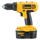 Factory Reconditioned Dewalt DC759KAR 18V Cordless 1/2 in. Compact Drill Driver Kit