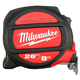Milwaukee 48-22-5225 26 ft. (8m) Standard/Metric Magnetic Tape Measure