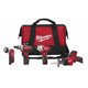 Factory Reconditioned Milwaukee 2491-84 M12 12V Cordless Lithium-Ion 4-Tool Combo Kit