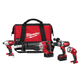 Factory Reconditioned Milwaukee 2692-84 M18 18V Cordless Lithium-Ion 4-Tool Combo Kit with Bag