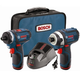 Factory Reconditioned Bosch CLPK27-120-RT 12V Max Cordless Lithium-Ion Drill Driver and Impact Driver Combo Kit