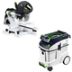 Festool P48561287 Kapex Sliding Compound Miter Saw with CT 48 E 12.7 Gallon HEPA Dust Extractor