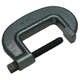 Wilton 27208 1-1/2 in. - 6-1/2 in. Jaw Opening, 40 Series Forged C-Clamp - Partially Closing Spindle, Heavy-Duty, 3-3/8 in. Throat Depth