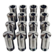 JET 650014 16-Piece 5-C Collet Set for Lathes and Grinders