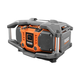Factory Reconditioned Ridgid ZRR84083 X4 18V Cordless Jobsite Radio with ShockMount Technology (Bare Tool)