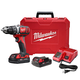 Factory Reconditioned Milwaukee 2606-82CT M18 Lithium-Ion Brushed 1/2 in. Cordless Drill Driver Kit (1.5 Ah)