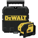 Dewalt DW083K Self-Leveling 3 Beam Laser Pointer