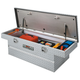 Delta CHAMPION 368000 Aluminum Chest for Mid-size Trucks with 4-Dr. Cabs - Bright