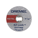 Dremel EZ456 EZ Lock 1-1/2 in. Cut-Off Wheels for Metal (5-Pack)