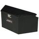 Delta Pro/JOBOX 416002 48 in. Long Aluminum Trailer Tongue Box - Black