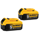 Dewalt DCB205-2 20V MAX XR Premium 5 Ah Lithium-Ion Battery (2-Pack)