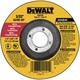 Dewalt DW8750-BNDL10 4-1/2 in. x 3/32 in. A24R High Performance Metal Cutting/Notching Wheels (25 Pc)