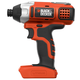 Black & Decker BDCI20B 20V Cordless Lithium-Ion 1/4 in. Impact Driver (Bare Tool)