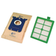 Electrolux ELBFB1 S-Bag Classic (4-Pack) and HEPA H12 Filter