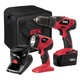 Factory Reconditioned Skil 2888-02-RT 18V Cordless Drill Driver Kit With Flashlight
