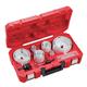 Milwaukee 49-22-4105 19-Piece HOLE DOZER Electrician's Bi-Metal Hole Saw Kit